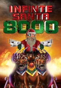 Infinite Santa 8000 Poster
